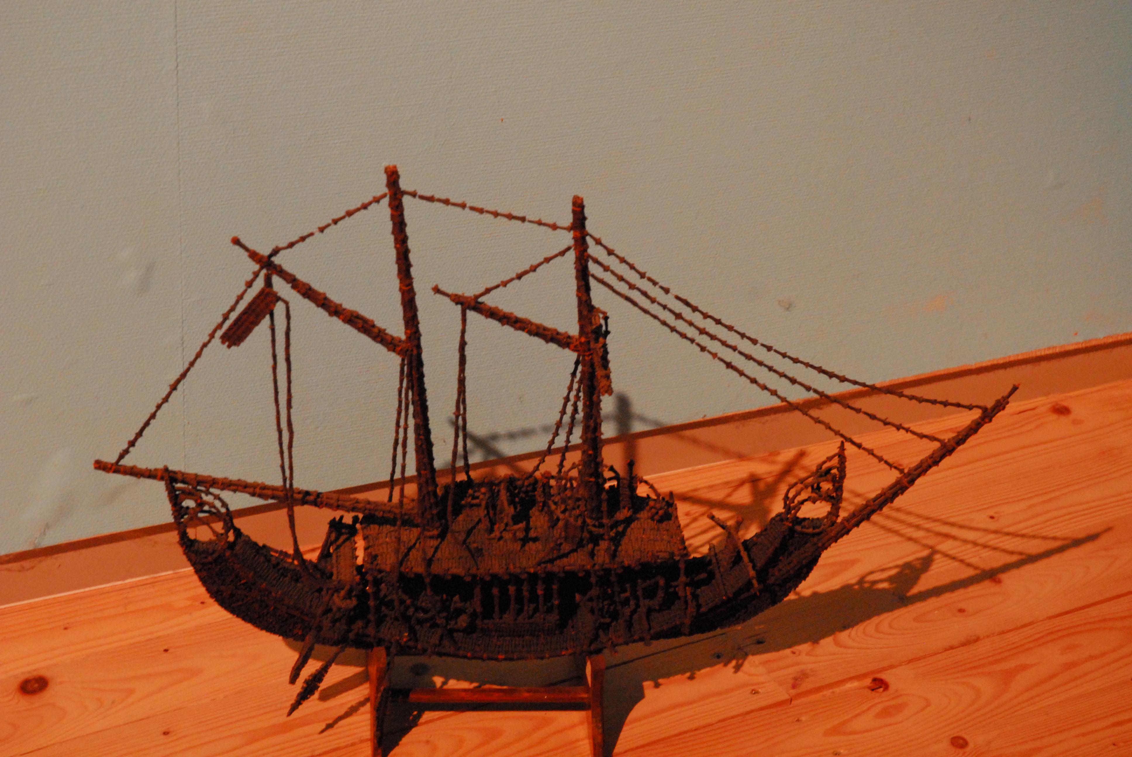 sampan, Indisch kustvaartuig