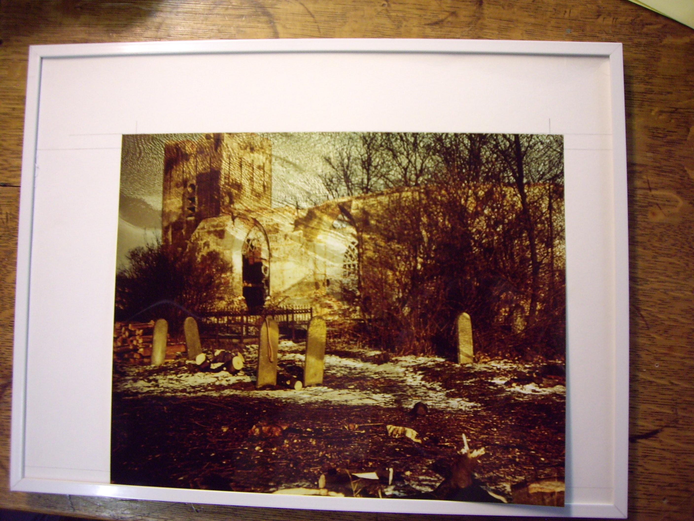 foto, sloop kerk Oterdum